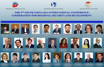 The 9th South China Sea Conference: Cooperation for Regional Security and Development
