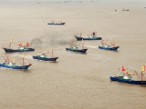 China's mobilization of fishing boats and fishermen