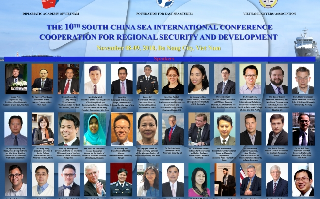The 10th South China Sea International Conference: Cooperation for Regional Security and Development
